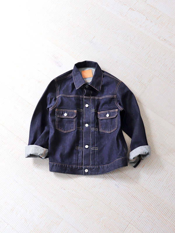 【30%OFF】HATSKI(ハツキ) 2Pocket Denim Jacket -One wash