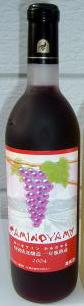 粋(いき)・いきワインかみのやま 赤720ml