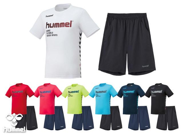 ヒュンメル Tシャツ&ハーフパンツ上下セット