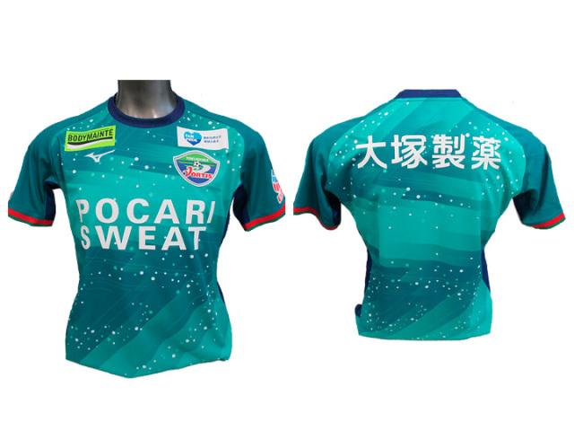 2019シーズン 徳島ヴォルティスオーセンティックモデル ゴールキーパー 2ndゲームシャツ 半袖