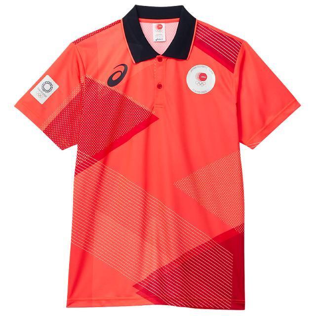 アシックス ポロシャツ(JOCエンブレム) JOC公式ライセンス商品 2033A515-600