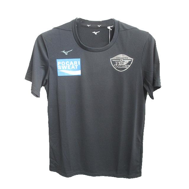 2020徳島ヴォルティス選手着用 移動着 半袖Tシャツ