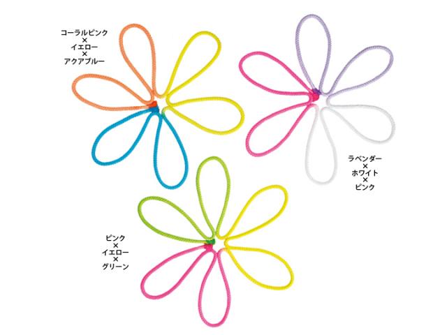 【新体操】ササキ 3色ロープ M280G