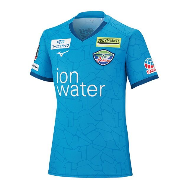 夏季限定モデル2021シーズン 徳島ヴォルティスオーセンティックモデル1stゲームシャツ 半袖
