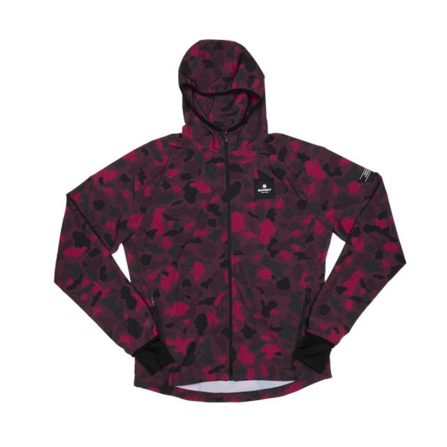 SAYSKY ランニングジャケット Camo Pace Jacket GMRJA06