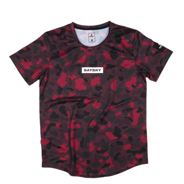 SAYSKY ランニングTシャツ Camo Combat Tee GRMSS10