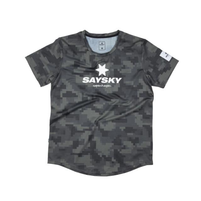 SAYSKY ランニングTシャツ Camo Combat Tee GMRSS20