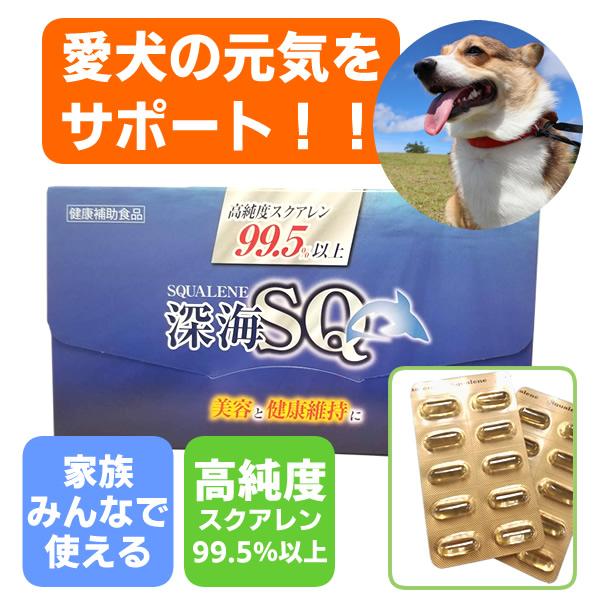 愛犬の健康サプリ 深海SQスクアレン