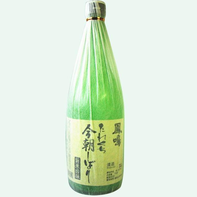 鳳鳴 たれくち今朝しぼり 純米吟醸生原酒 720ml