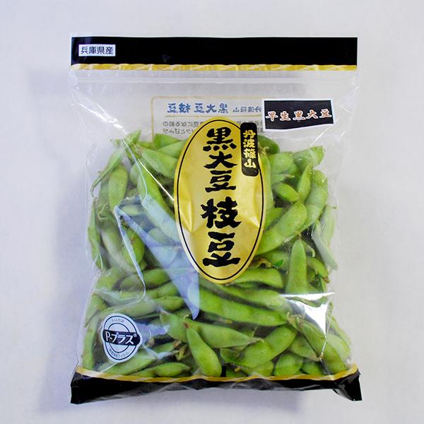 早生黒枝豆