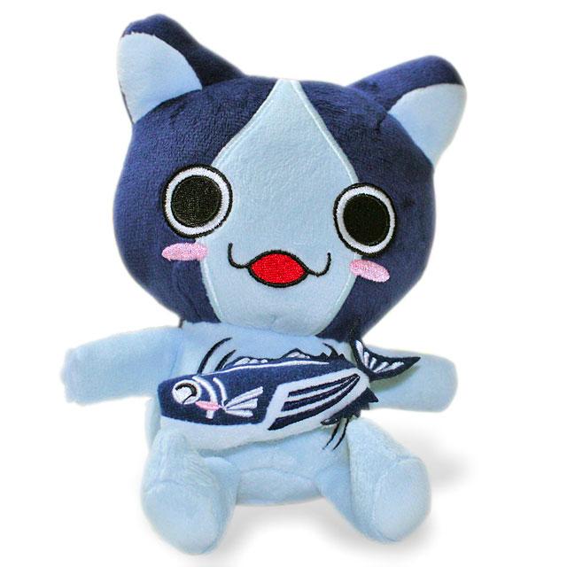 高知ご当地キャラねこ・「ぶるぶるカツオにゃんこ(鰹猫)」・かつおを引っ張るとブルブルふるえるカツオにゃんこのぬいぐるみ