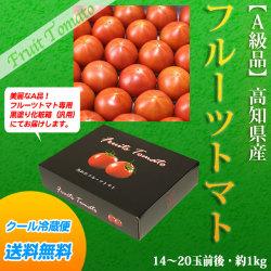 甘熟フルーツトマト・A・ご贈答用・約1kg(14〜20玉前後)・高知県産【送料無料】