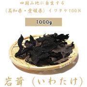 【送料無料】岩茸(いわたけ)・四国山地・石鎚山系などのイワタケ(高知県産・愛媛県産)・1kg