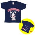 高知ゆるキャラ・「カツオにゃんこ」・キッズTシャツ(子供用)