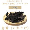 【送料無料】岩茸(いわたけ)・四国山地・石鎚山系などのイワタケ(高知県産・愛媛県産)・100g
