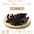 【送料無料】岩茸(いわたけ)・四国山地・石鎚山系などのイワタケ(高知県産・愛媛県産)・500g