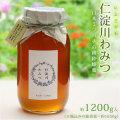 日本ミツバチの蜂蜜・「仁淀川わみつ(和蜜)」・約1200g入り・【100%天然・国産・非加熱・無加工・高知県産の純粋はちみつ】