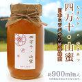 日本ミツバチのハチミツ・「四万十・山蜜(しまんと・やまみつ)」・約900ml瓶入・【100%天然・高知県四万十町産の純粋蜂蜜(非加熱)】