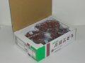 欧州系大粒ぶどうの高級種 ルビーオクヤマ (2kg箱詰)