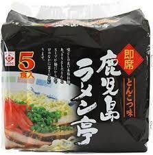 即席鹿児島ラーメン亭(5食入)
