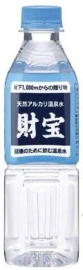 財宝温泉水(500ml)