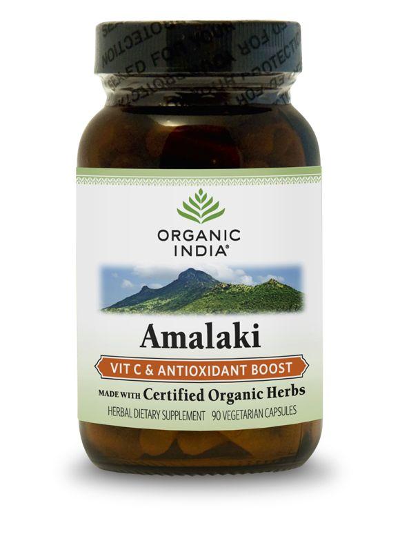 オーガニックインディア アマラキ (アムラ)サプリメント 90錠
