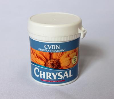 生け水のバクテリア増殖を抑え、切り花の日持ちを改善する切り花生産者用「クリザールCVBNタブレット(リフィル)」800錠入