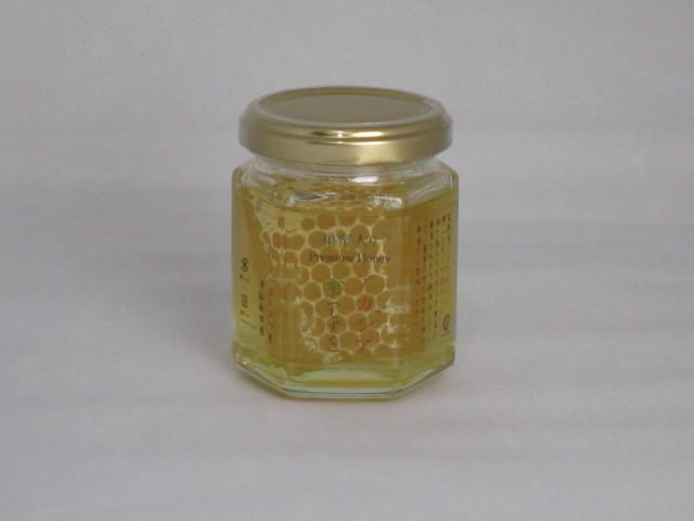澤谷養蜂園 アカシア巣蜜入り蜂蜜