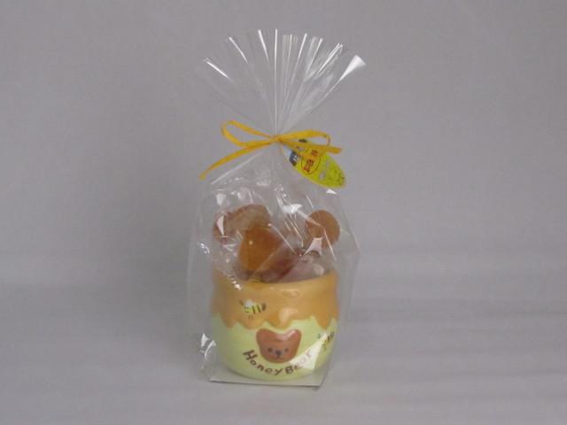 菜の花はちみつ手作り飴 容器入り(10個) <横浜町産菜の花蜂蜜使用>