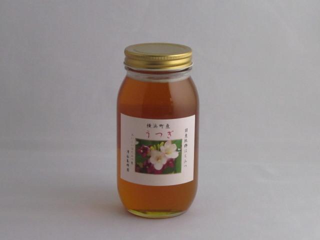 2019年産 新蜜 自家採取国産蜂蜜 「うつぎ蜂蜜1,000g」(青森県横浜町産)