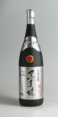 【泡盛古酒】黒真珠 古酒 43度 1800ml【八重泉酒造】