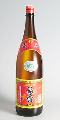 【泡盛】菊之露 30度 1800ml【菊之露】
