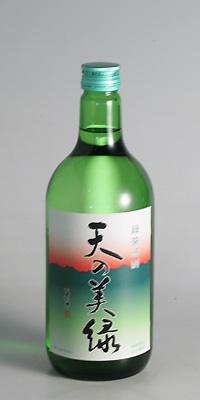 【緑茶焼酎】喜多屋 天の美緑 八女茶 25度 720ml【喜多屋】