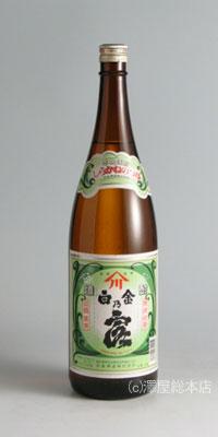 白金乃露(つゆしろ) 25度 1800ml