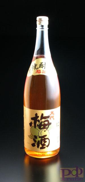 五代梅酒12度 1800ml【山元酒造】【酒蔵仕込みの本格梅酒】