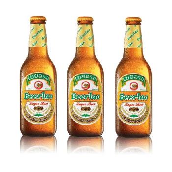 ラオスビール ビアラオ ラガー beerlao lager 330ml瓶 24本セット 【ラオ ブルワリー社】【正規輸入品】