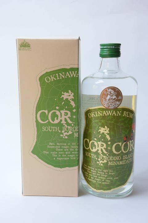 【国産ラム酒】グレイスラム コルコル(緑ラベル)40度 720ml  CORCOR アグリコール