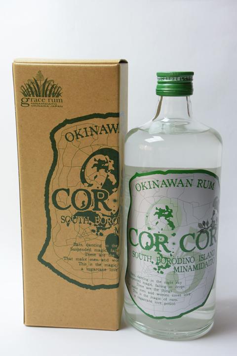 【国産ラム酒】グレイスラム コルコル(緑ラベル)25度 720ml CORCOR アグリコール