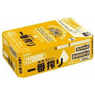 【ビール】 キリン 一番搾り 350ml缶×24本