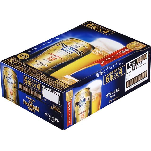 【ビール】 ザ・プレミアム・モルツ 350ml缶×24本【プレモル】【pohm_BPDC6_2015】