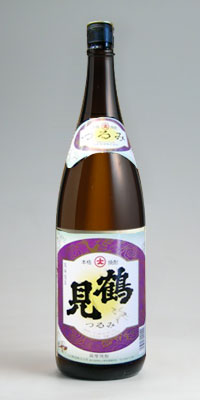 【芋焼酎】鶴見 25度 1800ml【販売店限定】【大石酒造謹製】