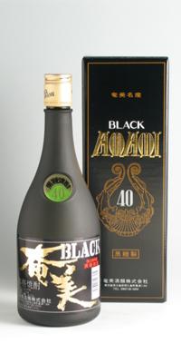 【黒糖焼酎】奄美ブラック 40度 720ml【奄美酒類】
