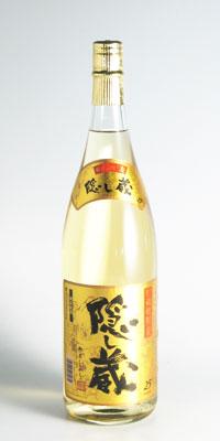 【麦焼酎】隠し蔵 25度 1800ml【濱田酒造】