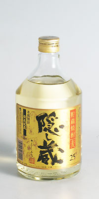 【麦焼酎】隠し蔵 25度 720ml【濱田酒造】