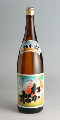 【芋焼酎】芋焼酎 湊の酒屋 わか松 25度 1800ml【流通限定品】【若松酒造】