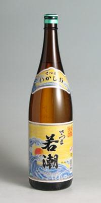 【芋焼酎】若潮 25度 1800ml【若潮酒造】【若潮酒造製品の中から6本以上お買い上げで送料無料】