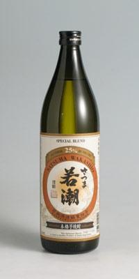 【芋焼酎】若潮 25度 900ml【若潮酒造】