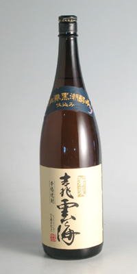 【そば焼酎】吉兆雲海 25度 1800ml【雲海酒造】