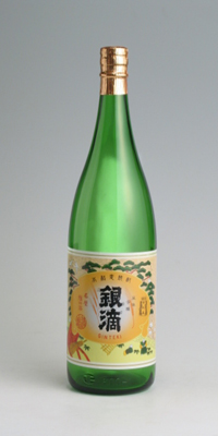 【麦焼酎】むぎ銀滴 25度 1800ml【王手門酒造】