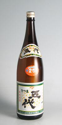 【芋焼酎】五代 25度 1800ml【山元酒造】